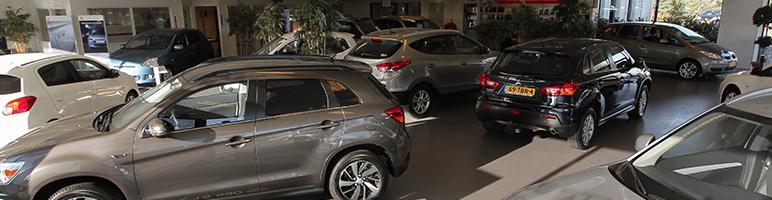 Showroom Autobedrijf Auto de Boer Franeker